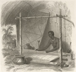 A Tantee or Indian weaver